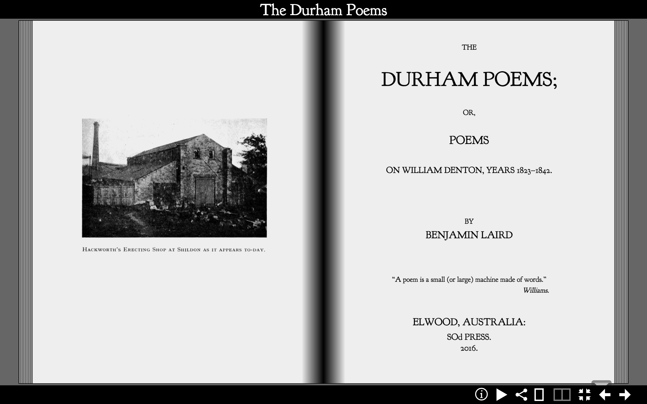 The Durham Poems